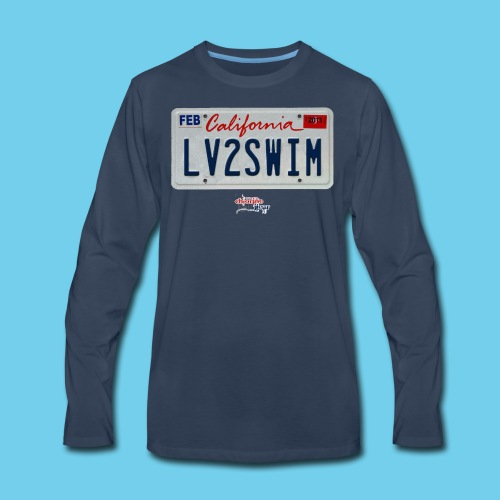 LIMITED TIME SALE- $3 OFF!! VA License Plate Tee- Women's - Men's Premium Long Sleeve T-Shirt