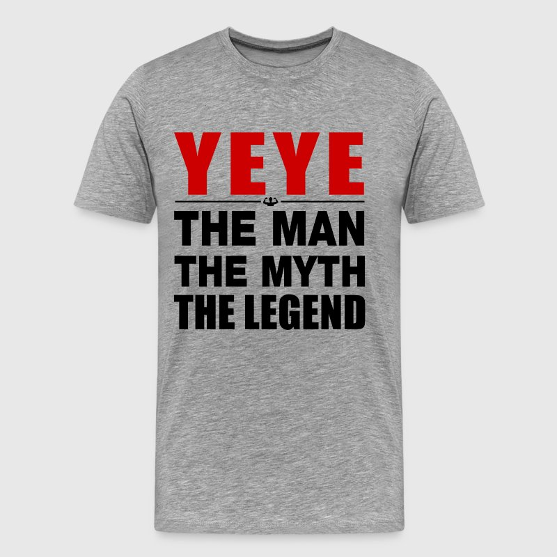 Yeye The Legend T-Shirts - Men's Premium T-Shirt