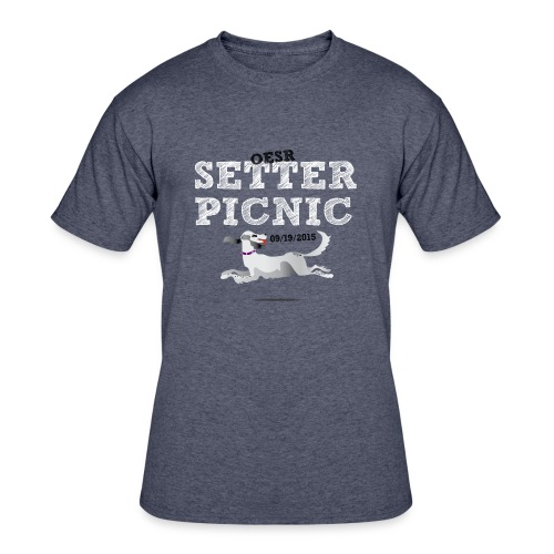 Women's OESR Setter Picnic Tshirt 09/19/2015 - Men's 50/50 T-Shirt