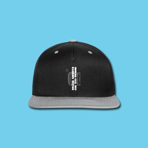 #GoHARDorGoHOME Men's Tee - Snap-back Baseball Cap