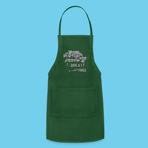 Butter, Back, Breast, Free- Men's Hoodie - Adjustable Apron