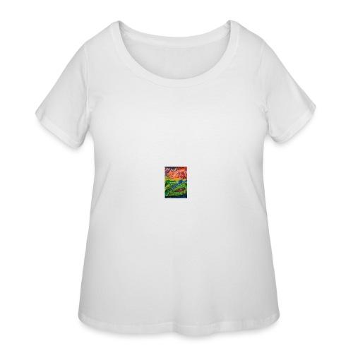 Realm of Fire, Coffee Mug - Women's Curvy T-Shirt