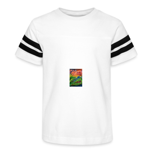 Realm of Fire, Coffee Mug - Kid's Vintage Sport T-Shirt