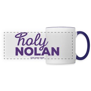 Holy Nolan - Ladies Longer Length Fitted Tank 2 - Panoramic Mug