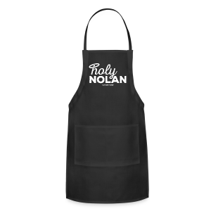 Holy Nolan - Ladies Longer Length Fitted Tank - Adjustable Apron