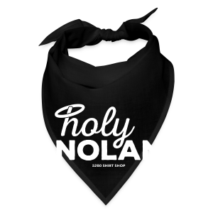 Holy Nolan - Ladies Longer Length Fitted Tank - Bandana