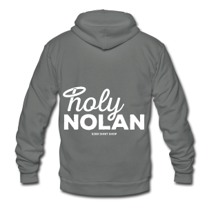 Holy Nolan - Ladies Longer Length Fitted Tank - Unisex Fleece Zip Hoodie by American Apparel