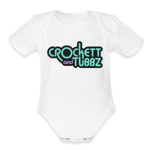 C&T Mens WHT - Short Sleeve Baby Bodysuit