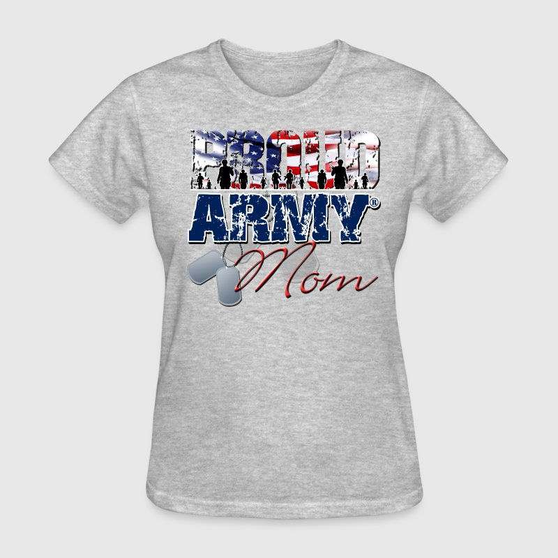Proud Army Mom Women's T-Shirts - Women's T-Shirt