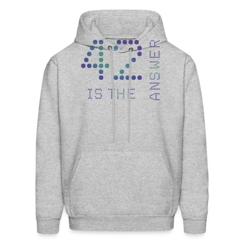 42 is the Answer - Men's Hoodie