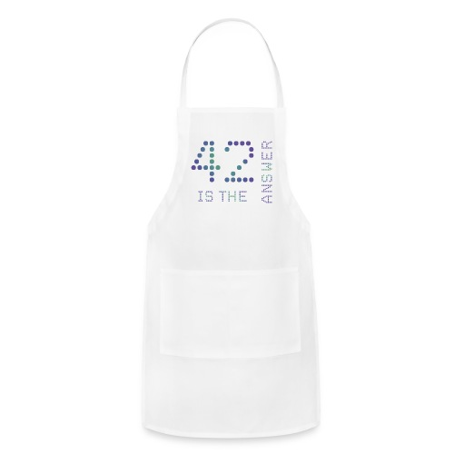 42 is the Answer - Adjustable Apron