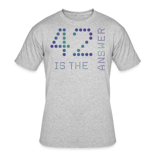 42 is the Answer - Men's 50/50 T-Shirt