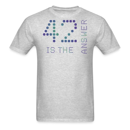 42 is the Answer - Men's T-Shirt