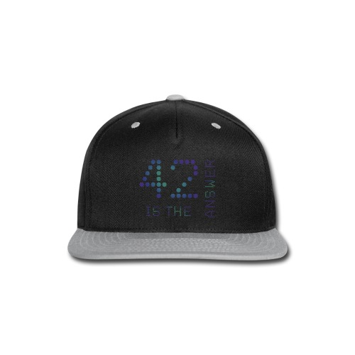 42 is the Answer - Snap-back Baseball Cap