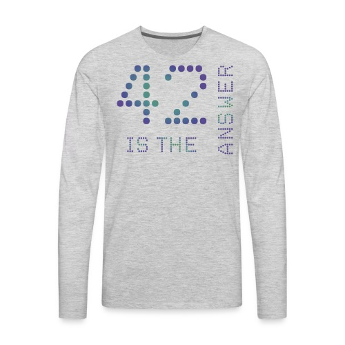 42 is the Answer - Men's Premium Long Sleeve T-Shirt