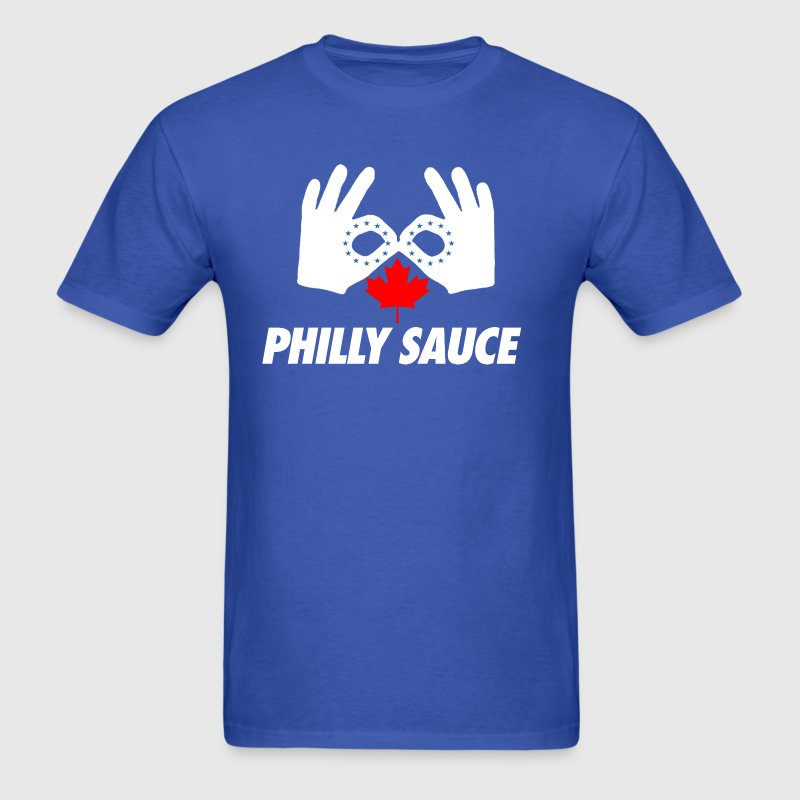 Philly Sauce T-Shirts - Men's T-Shirt