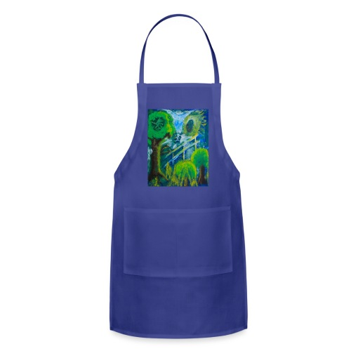 Friends in the Forest, Men's T-shirt - Adjustable Apron