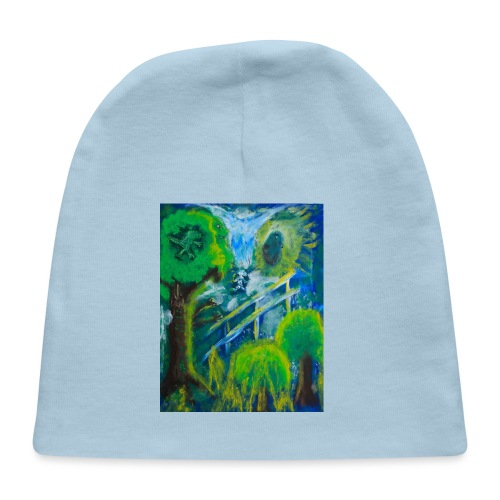 Friends in the Forest, Men's T-shirt - Baby Cap