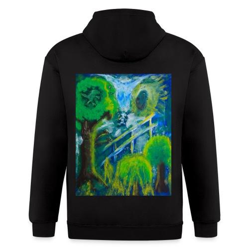 Friends in the Forest, Men's T-shirt - Men's Zip Hoodie