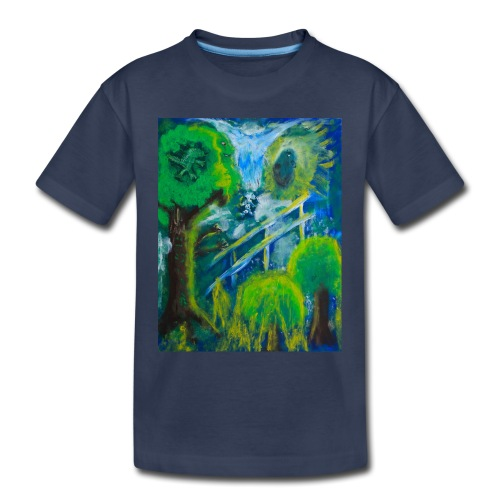 Friends in the Forest, Men's T-shirt - Toddler Premium T-Shirt