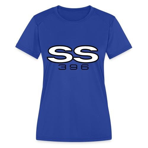 Chevy SS 396 emblem - Women's Moisture Wicking Performance T-Shirt