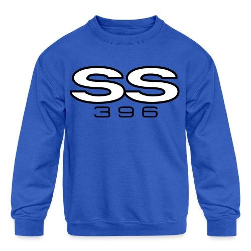 Chevy SS 396 emblem - Kids' Crewneck Sweatshirt