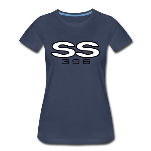 Chevy SS 396 emblem - Women's Premium T-Shirt