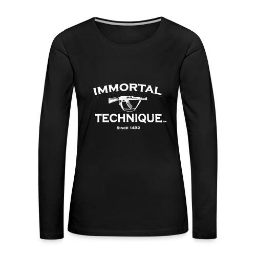 Immortal Technique Hip Hop - Women's Premium Long Sleeve T-Shirt