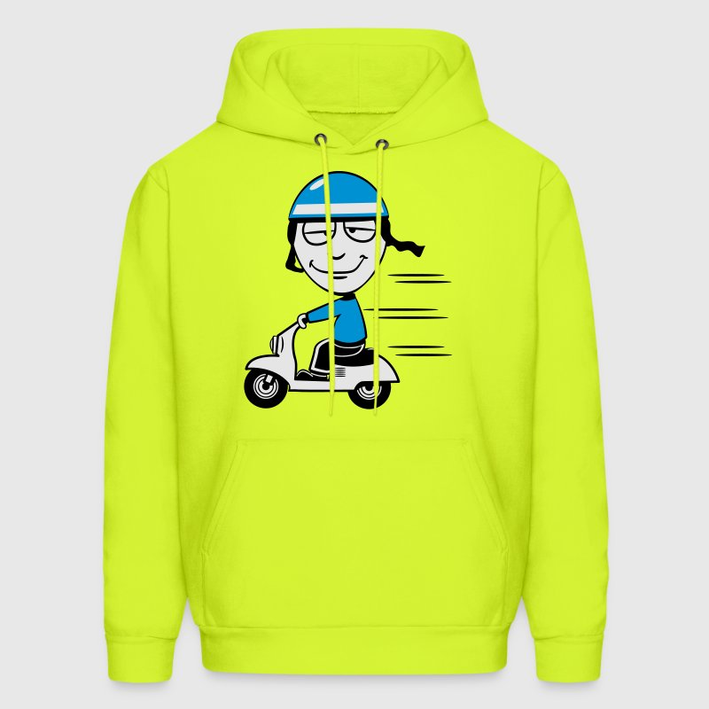 stupid funny Scooter T-Shirts - Men's Hoodie
