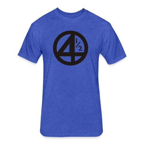 Fantastic 4 and a half - Fitted Cotton/Poly T-Shirt by Next Level