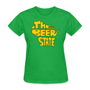 The Beer State (Gold)  - Women's T-Shirt