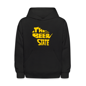 The Beer State (Gold)  - Kids' Hoodie