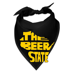 The Beer State (Gold)  - Bandana
