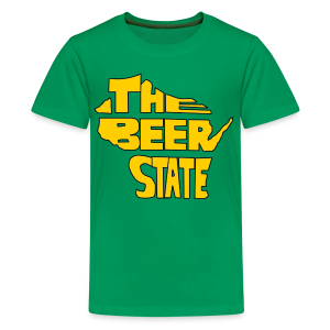 The Beer State (Gold)  - Kids' Premium T-Shirt
