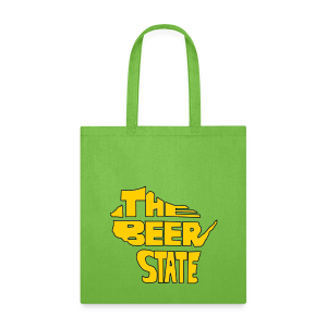 The Beer State (Gold)  - Tote Bag