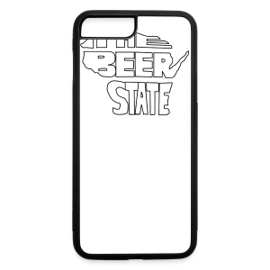 The Beer State (White)  - iPhone 7 Plus Rubber Case