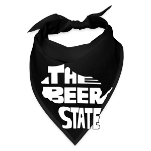 The Beer State (White)  - Bandana