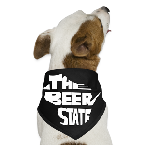 The Beer State (White)  - Dog Bandana