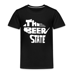 The Beer State (White)  - Toddler Premium T-Shirt