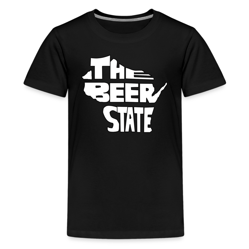 The Beer State (White)  - Kids' Premium T-Shirt