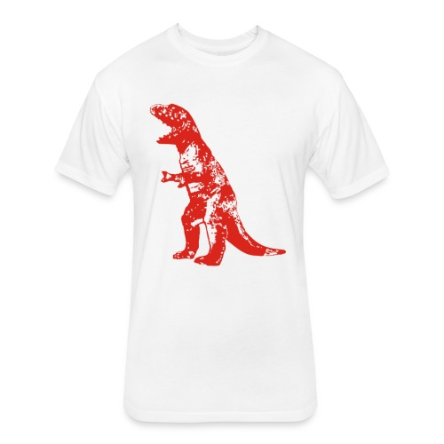 Big Bang Theory - Sheldon Dinosaur T-rex - Fitted Cotton/Poly T-Shirt by Next Level