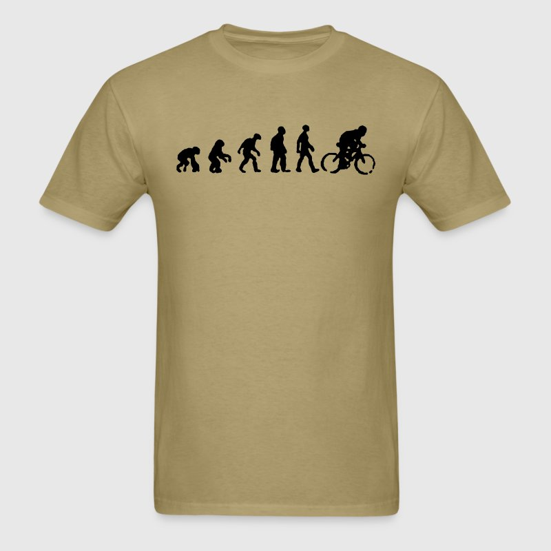Bicycle evolution shirt - Men's T-Shirt
