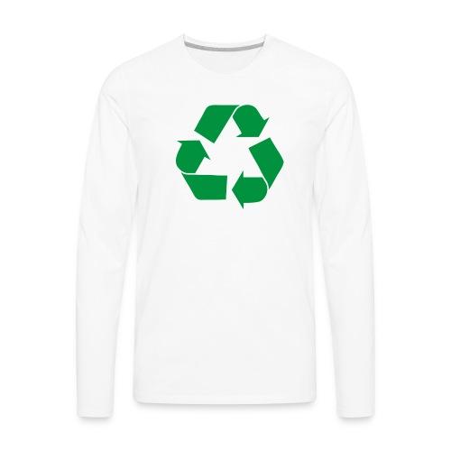 Big Bang Theory - Leonard Recycle - Men's Premium Long Sleeve T-Shirt
