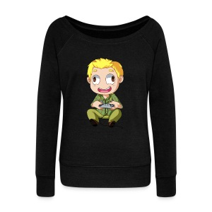 GOG Game Face Women's Tee - Women's Wideneck Sweatshirt