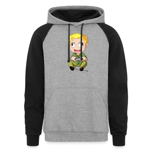 GOG Game Face Pillow - Colorblock Hoodie