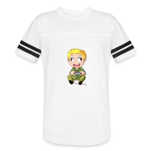 GOG Game Face Pillow - Vintage Sport T-Shirt