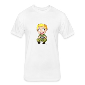 GOG Game Face Pillow - Fitted Cotton/Poly T-Shirt by Next Level