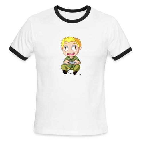 GOG Game Face Pillow - Men's Ringer T-Shirt