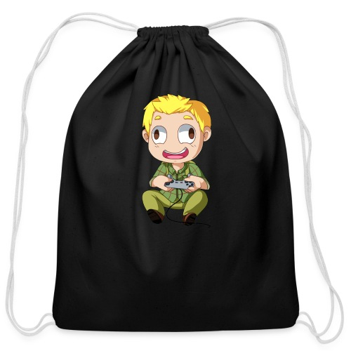 GOG Game Face Pillow - Cotton Drawstring Bag
