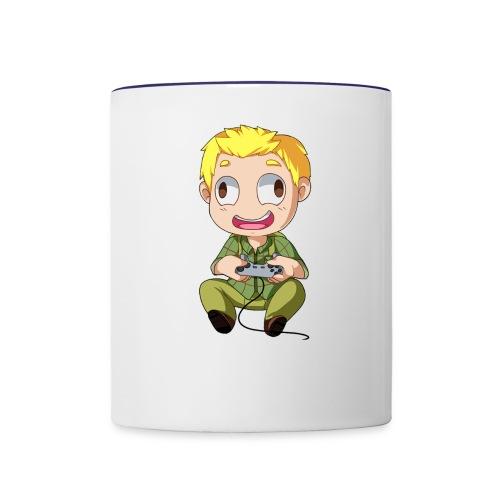 GOG Game Face Pillow - Contrast Coffee Mug